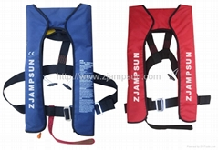 Inflatable lifejacket(Yoke-Type)0511(Automatic)