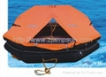 fishing throw-over type inflatable liferaft type Y15/20/25  2
