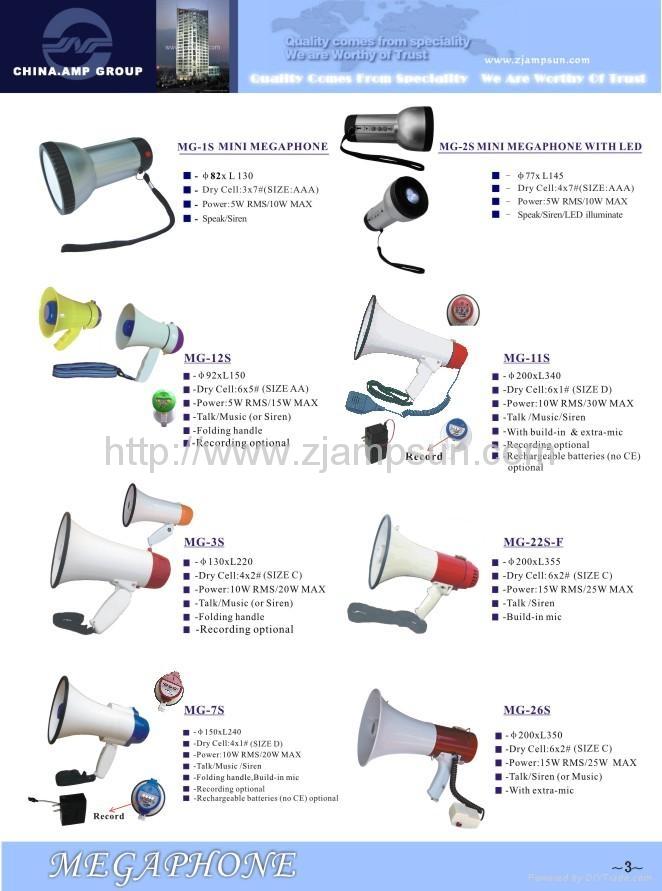 Megaphone catalogues /megafono 1