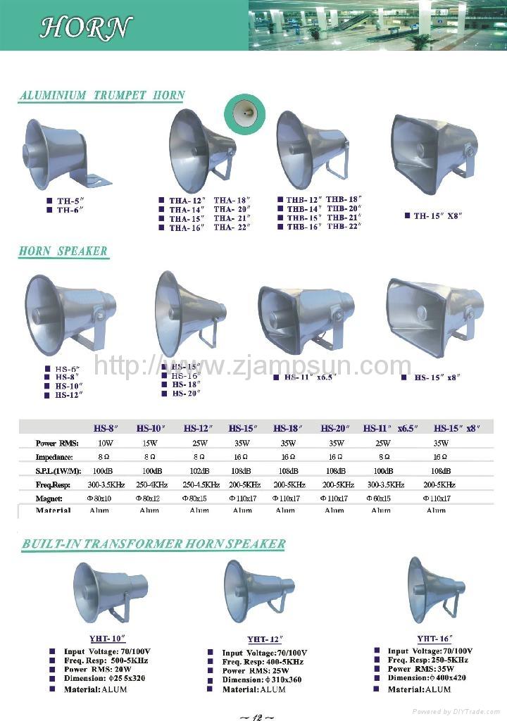 Alum horn speaker 1