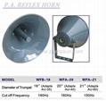 horn speaker ,P.A. reflex horn speaker/sirens/hooters ,wfb-18/20/21 2