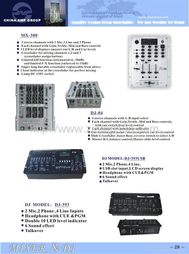 Mixer &DJ 4