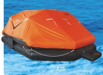 Throw-over Type Inflatable Liferaft Type A 25men Inflatable life rafts A25 2