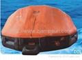 Davit launching/mounting Type Inflatable