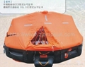 Davit launching/mounting Type Inflatable Liferaft d25 25men