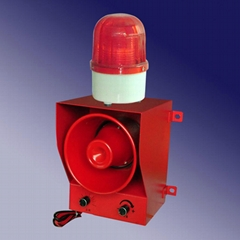 Industrial acoustic and light Warning Siren alarm