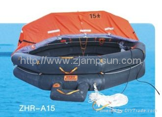 Throw-over Type Inflatable Liferaft Type A15