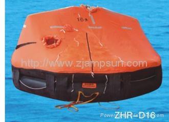 Davit launching/mounting Type Inflatable Liferaft d16