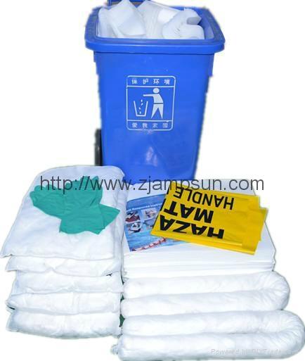 Kit  para derrames de petróleo/oil kit spill240L/120 /80/50/30etc