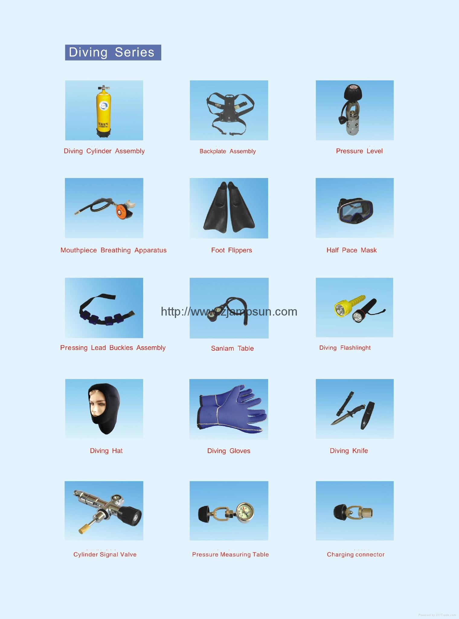 diving device   accessories