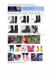 rain shoe cover /boots for motos