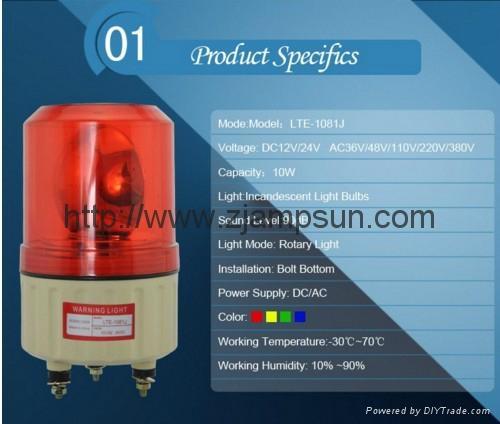 1081  LED Strobe light / Warning Light Flashing Light 4