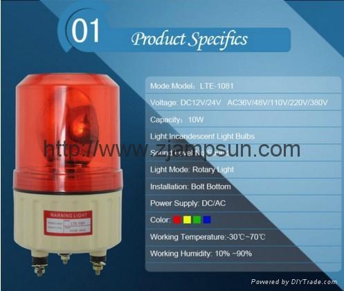 1081  LED Strobe light / Warning Light Flashing Light 5