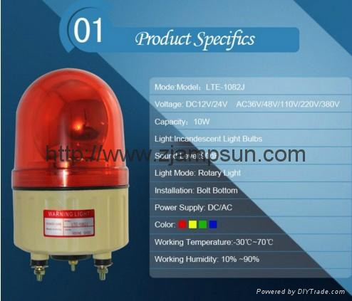 1082  LED Strobe light / Warning Light Flashing Light 3