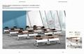 metal office furniture training table series