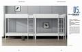metal school furniture shool set series