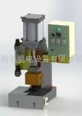 pneumatic (air & oil increase pressure) injection molding machine