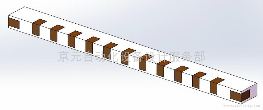 扁長條型紙箱專用膠帶封箱機 1