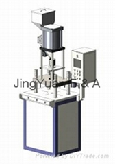 Four pillars vertical micro molding machine