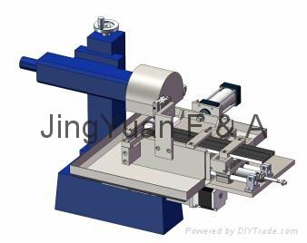 鋁型材散熱器成型自動切削加工機 1