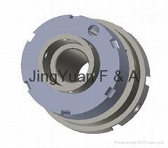 Hollow hydraulic cylinder