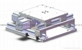 self-lubricating oil-free XY cross slide platform