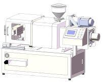 微型桌面臥式注塑機 1