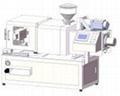 Mini tabletop horizontal injection