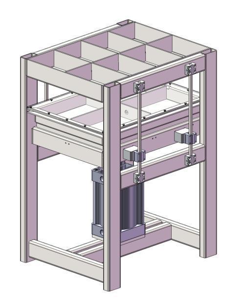 小型壓板機熱壓機 2