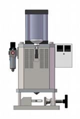 微型氣動人力復合注塑機