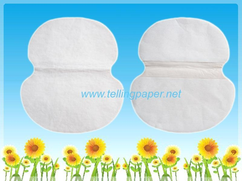 Disposable Underarm sweat pads/underarm liners/armpit patch 3