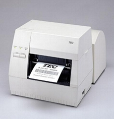 TEC B-452汽車配件條碼標籤打印機
