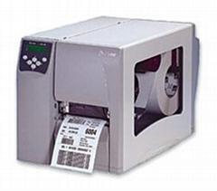 zebra s4m汽車配件條碼標籤打印機