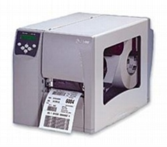 zebra s4m汽车配件条码标签打印机