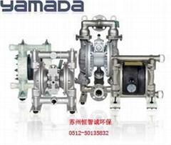日本yamada山田氣動隔膜泵