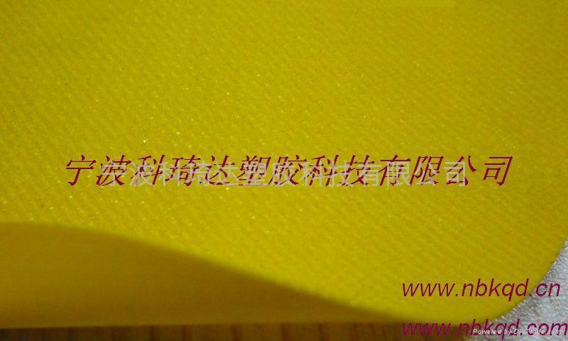 PVC塗層夾網布氣模布 1