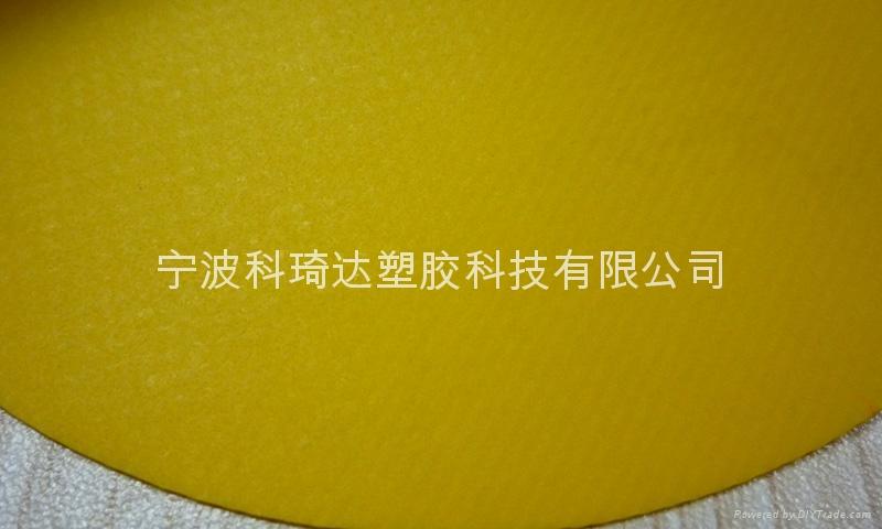 PVC塗層夾網布氣模布 4