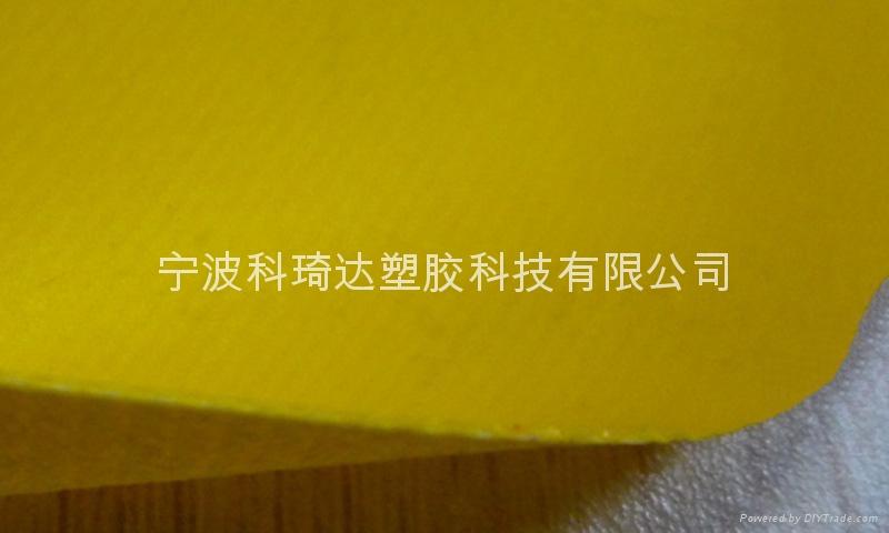 PVC塗層夾網布氣模布 5