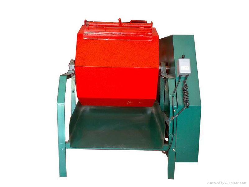 水平式PU胶滚桶研磨机滚筒式研磨机 1