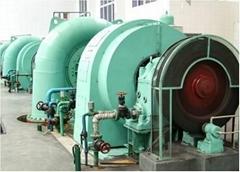 中型水轮发电机及发电机组