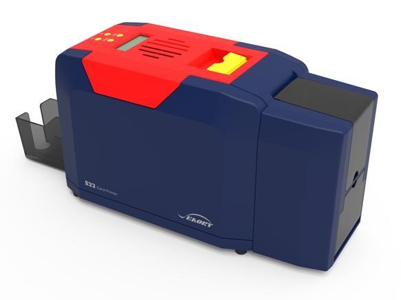 国产飒瑞双面证卡打印机 3
