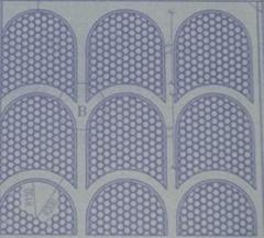 供应兰新线拱形塑料护坡模具