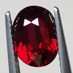 无烧鸽血红红宝石