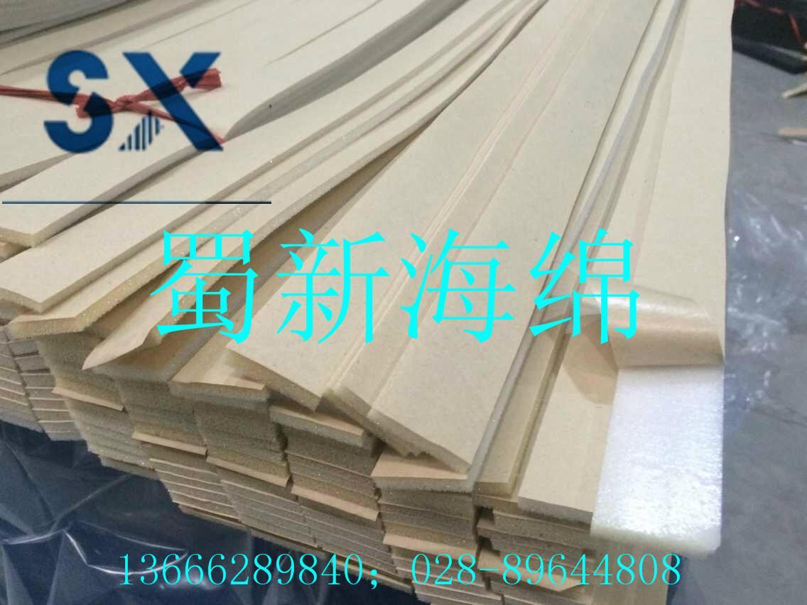 供應單面背膠密封減震海綿條 1