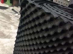 供应黑色阻燃橡塑隔音海绵