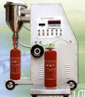filling machine for fire extinguisher