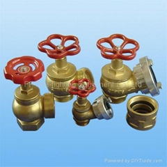 landing valve  ( for fire hose)