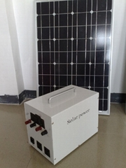Portable solar power system(suitable for ourdoor use)
