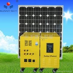 solar polycrystalline silicon power system