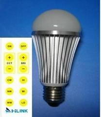 三星LED可调色温球泡
